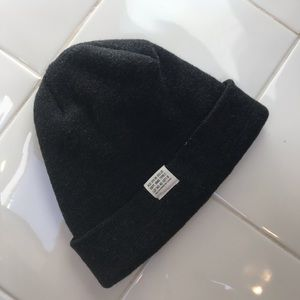 Knit Dark Grey Beanie